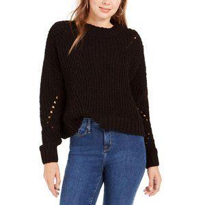 Wynter Open Stitch Crop Sweater